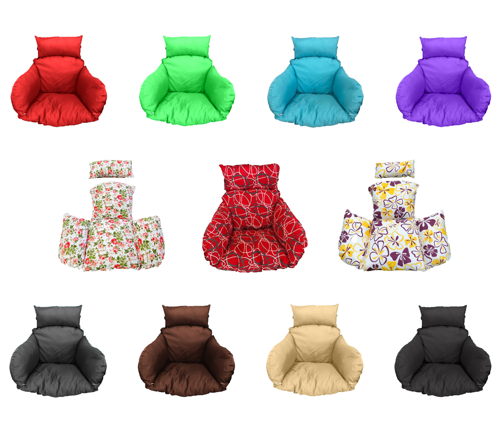 Brand New Replacement Cushions for Swinging Egg Chairs (CUSHION ONLY) SW00C