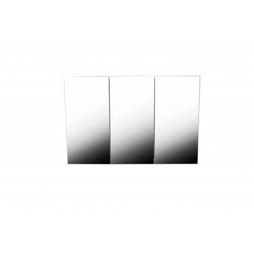 Wall-Mounted 3 Door Mirrored Bathroom Cabinet KL014