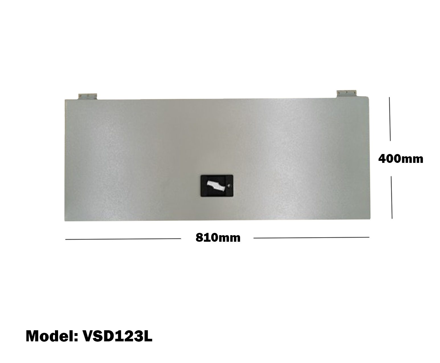 Van Shelving 810mm(L) x 400mm(H) Lockable Door Double Tier For Van Shelving System VSD123L