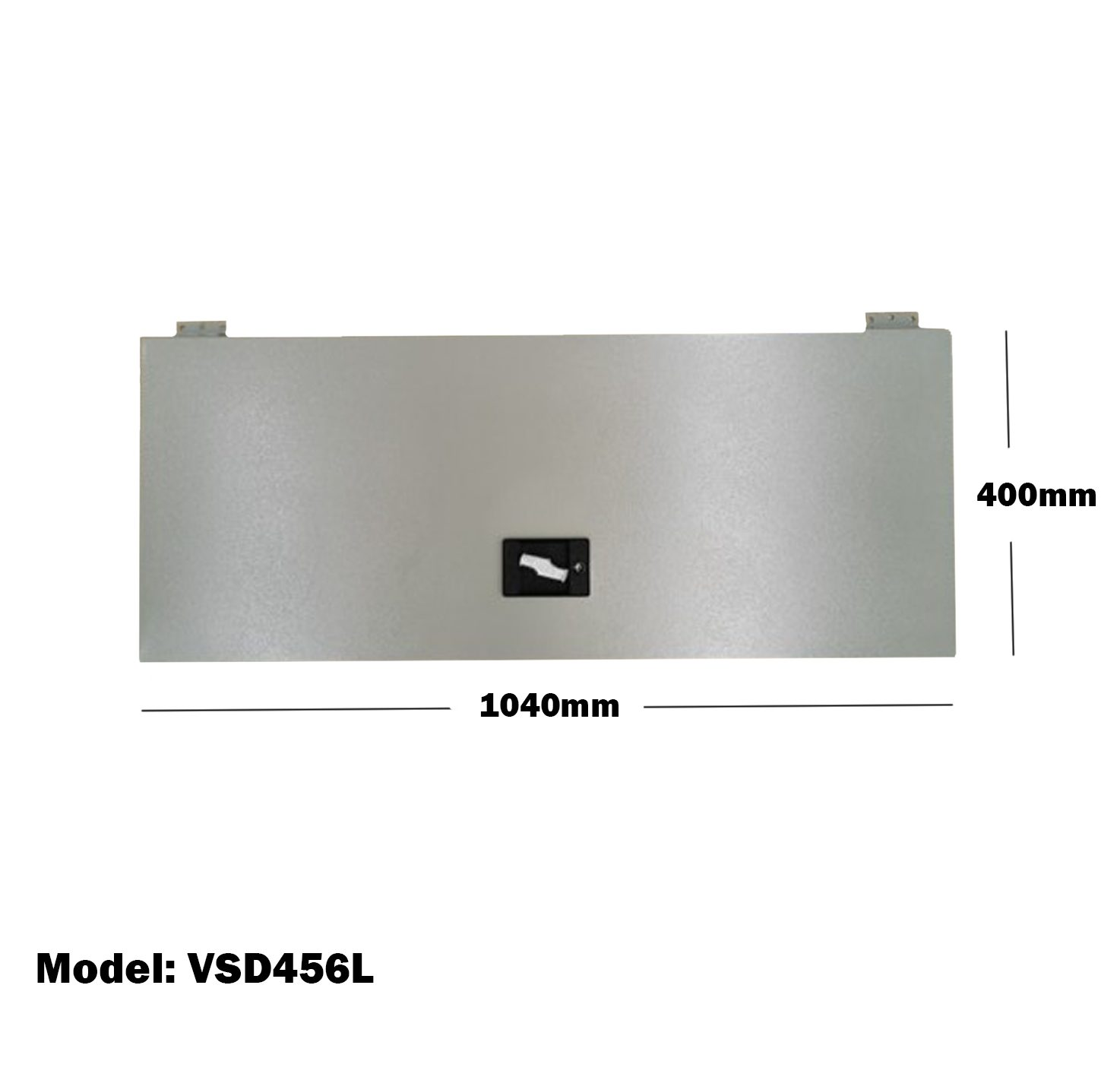 Van Shelving 1040mm(L) x 400mm(H) Lockable Door Double Tier For Van Shelving System VSD456L