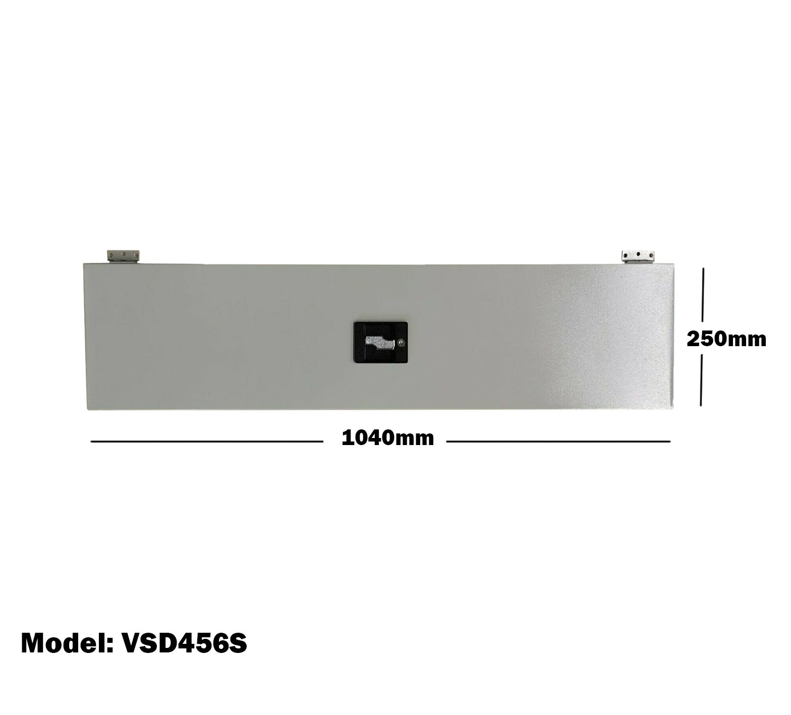 Van Shelving 1040mm(L) x 250mm(H) Lockable Door Single Tier For Van Shelving System VSD456S