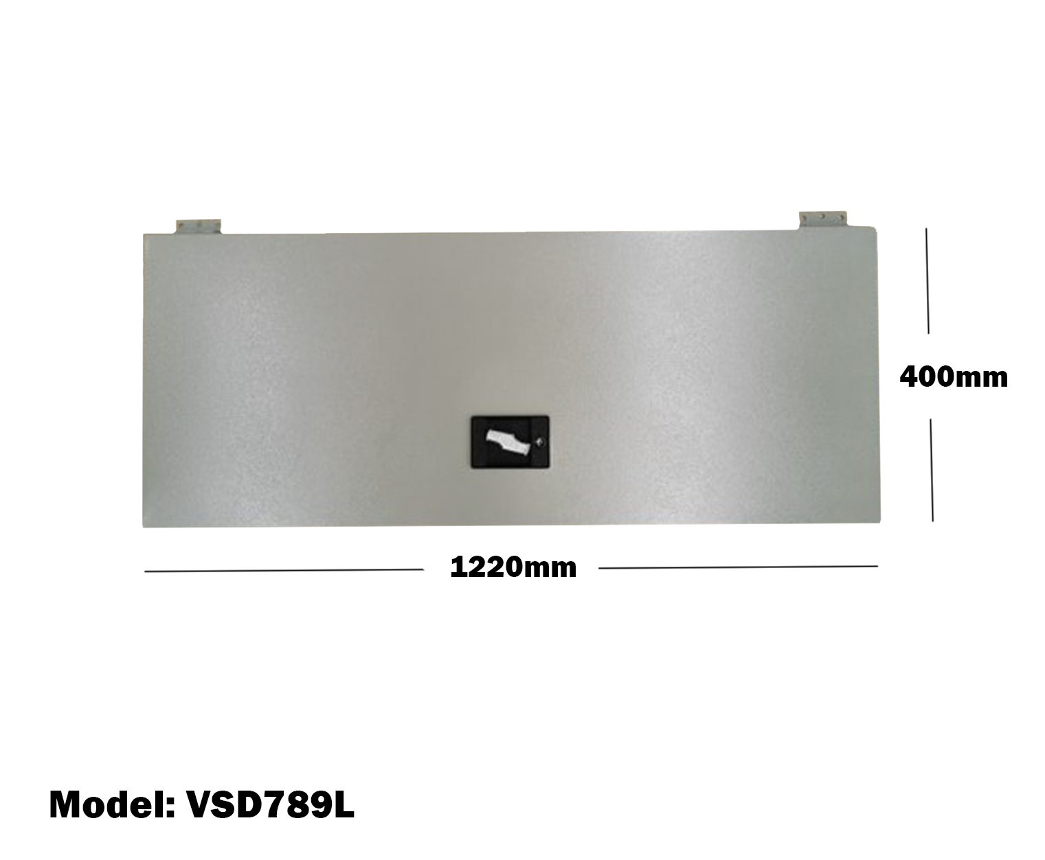 Van Shelving 1220mm(L) x 400mm(H) Lockable Door Double Tier For Van Shelving System VSD789L