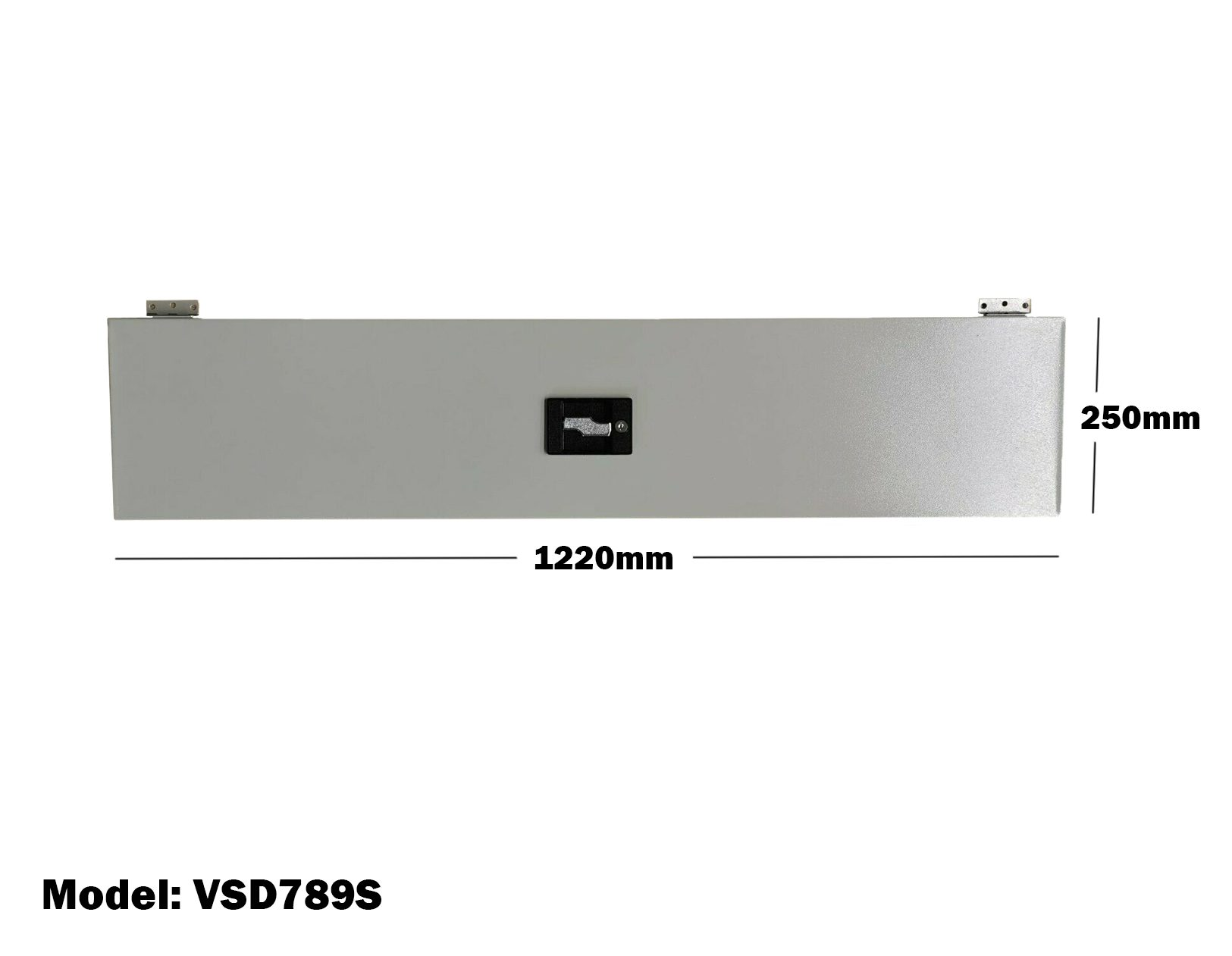 Van Shelving 1220mm(L) x 250mm(H) Lockable Door Single Tier For Van Shelving System VSD789S
