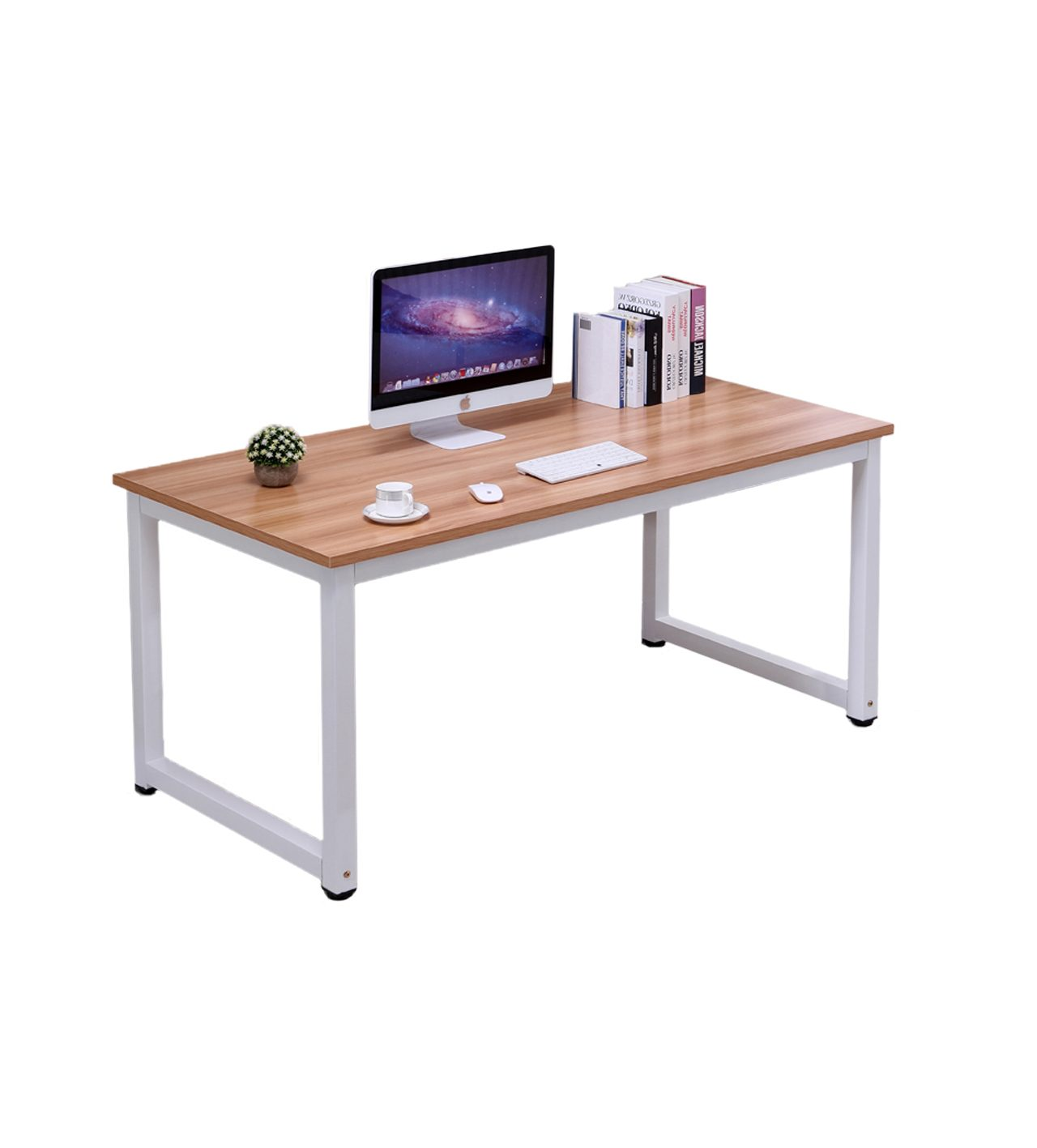 1.2M Modern Simple Office Desk Tan Colour OD002T