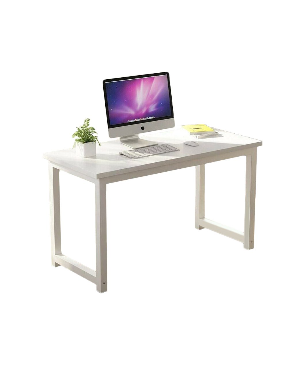 1.2M Modern Simple Office Desk White Colour OD002W