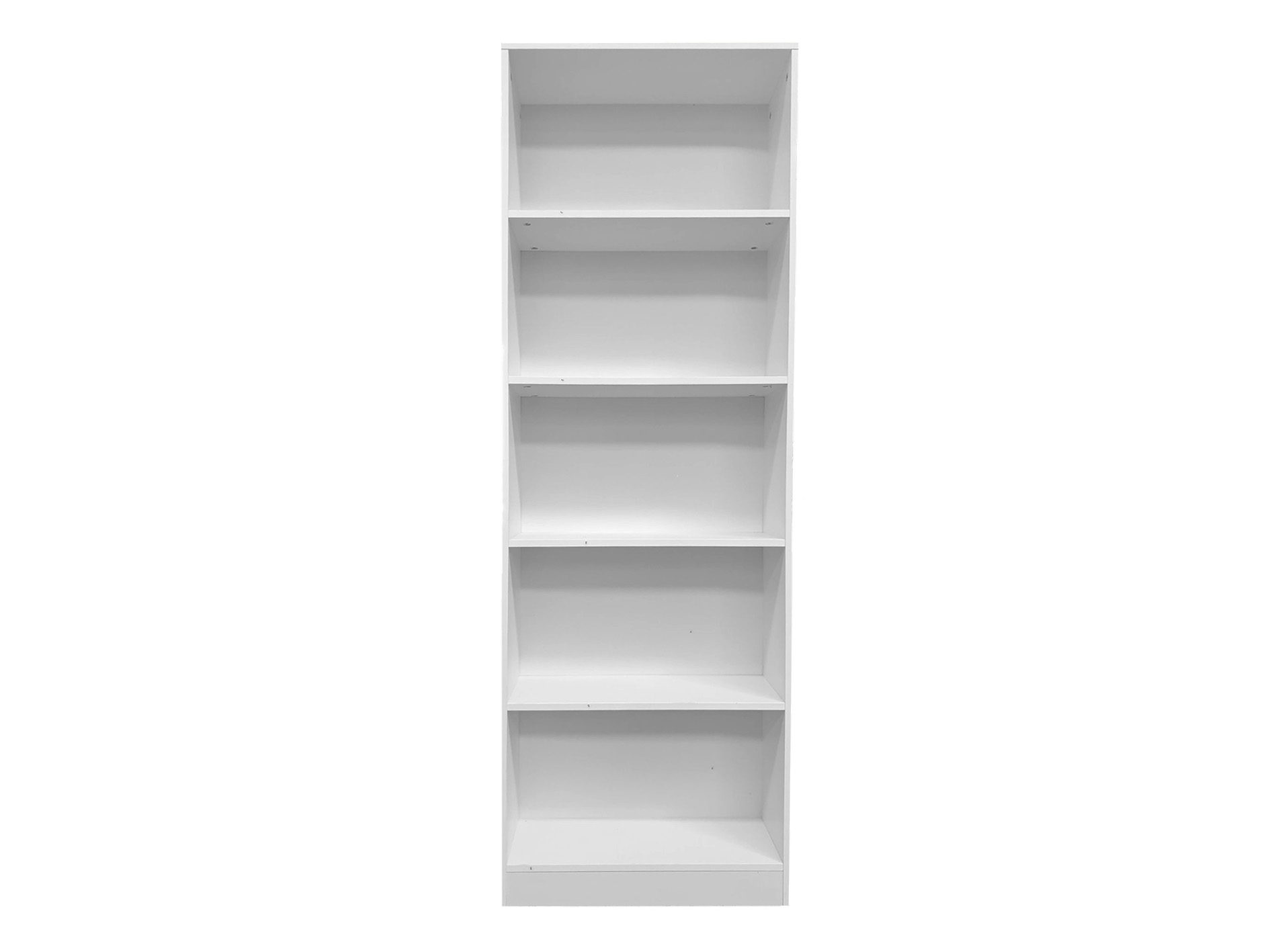 5 Tier White Display Shelf Bookcase Storage Media Cupboard Cabinet Rack (Copy)