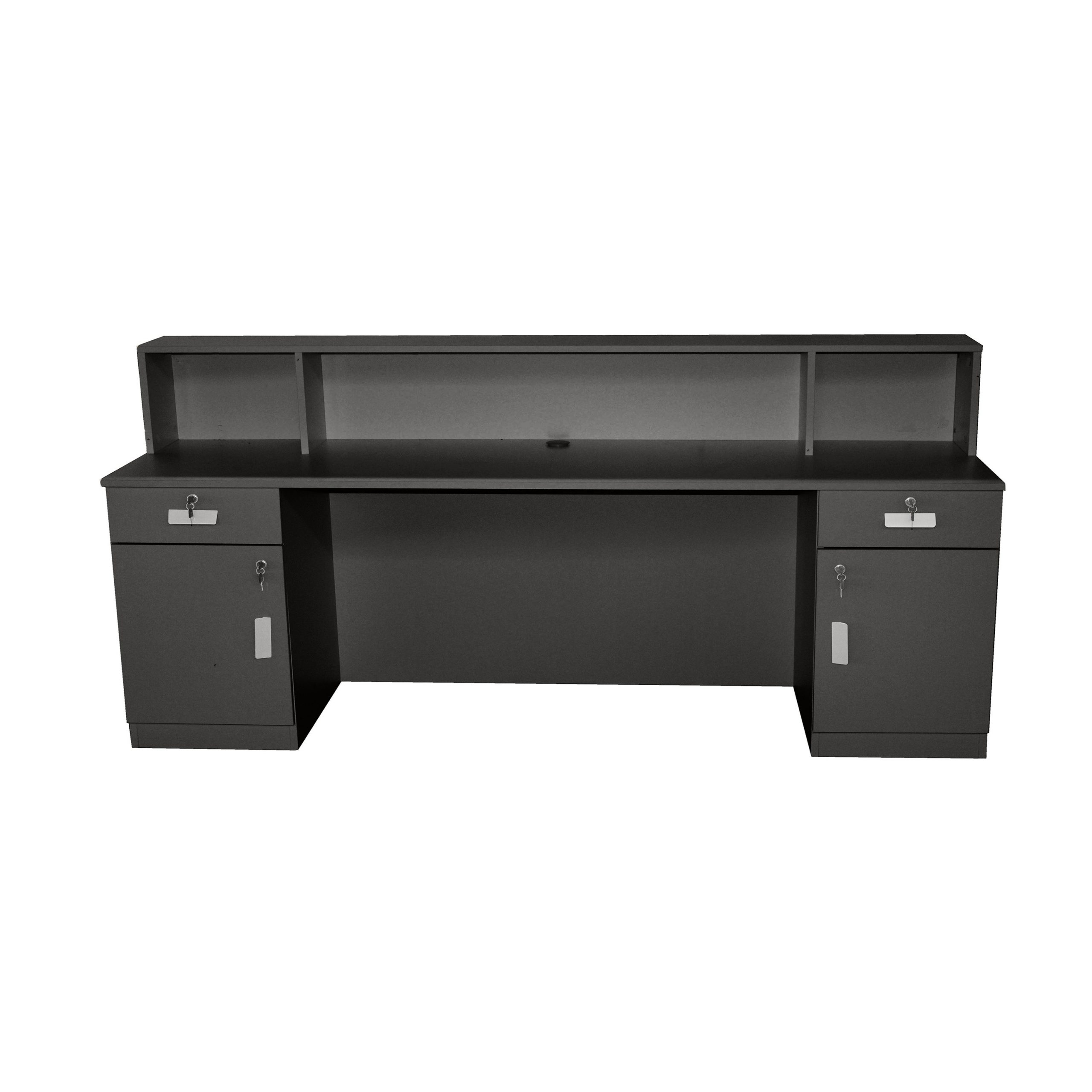 Brand New Charcoal Reception Desk Counter 2M
